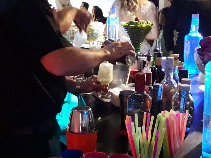 Cada drink é exclusivo