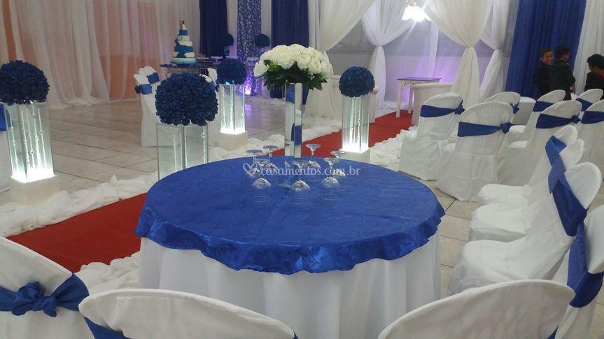 Salão mesa convidados
