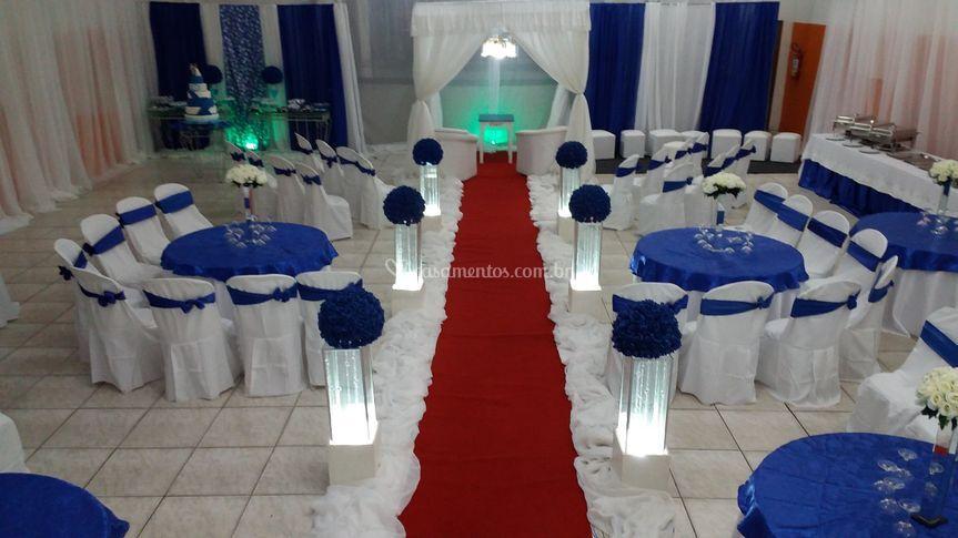 Casamento- ceremônia/recepção