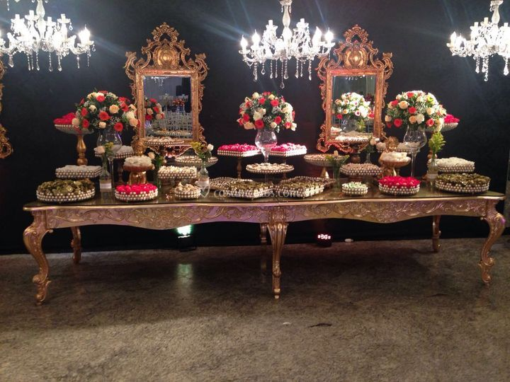 Mesa de doces de Prisma Eventos
