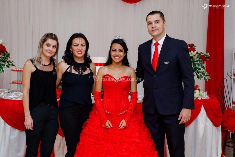 Debutante Érica Camila