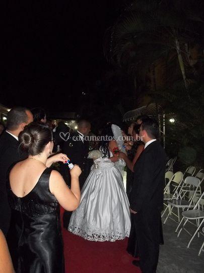 FSO fazendo parte no casamento