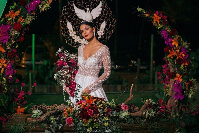 Noiva no altar