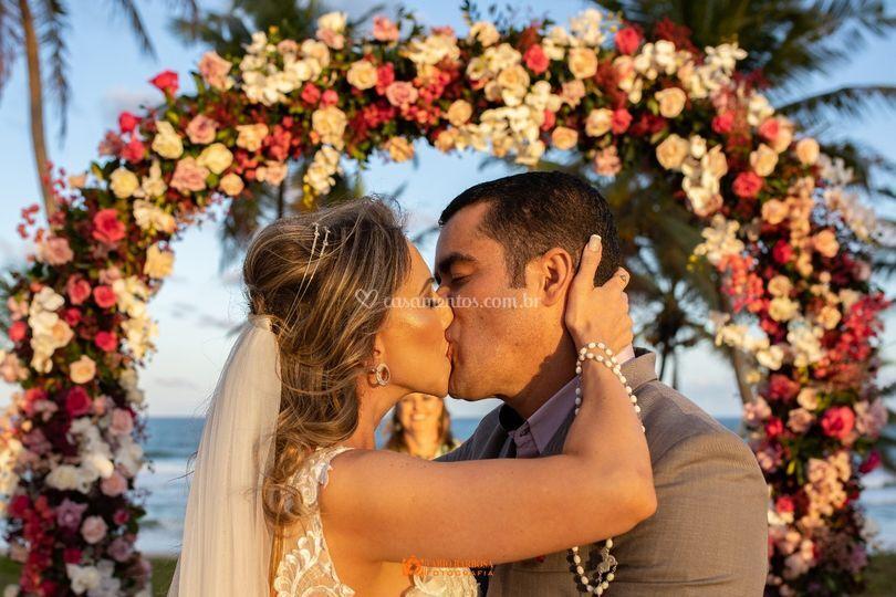 Wedding praia na bahia