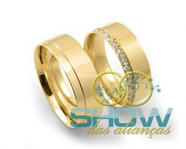Alianças para casamentos