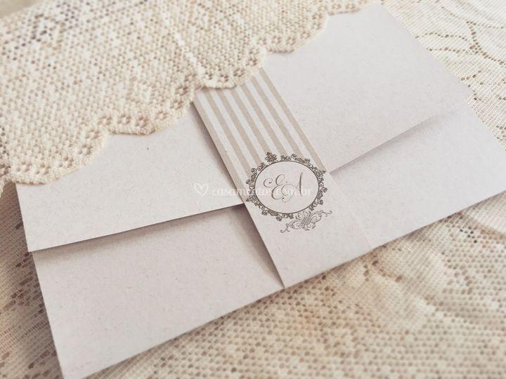 Convite de Casamento 1