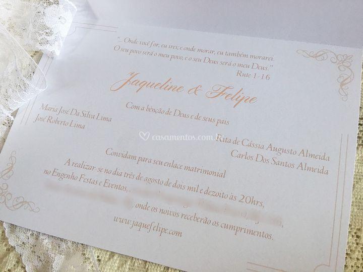 Convite de Casamento 2