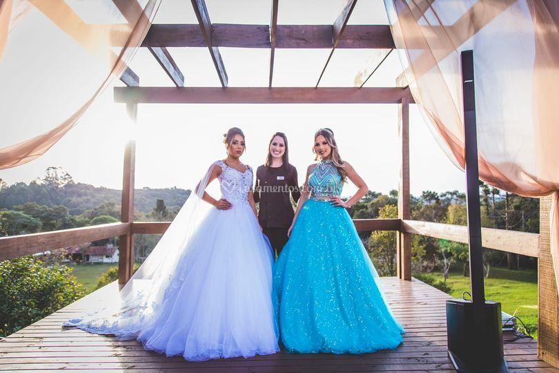 Amor pelas noivas e debutantes