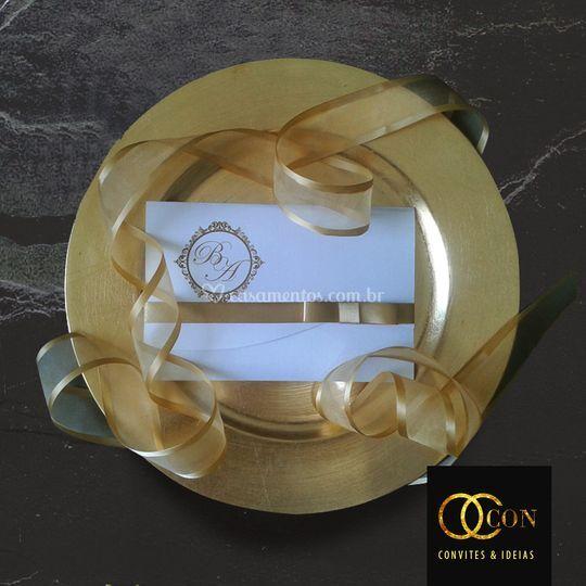Convite Classic Ouro