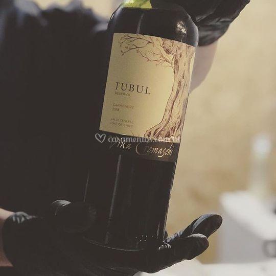 Sorvete de vinho carmeriére