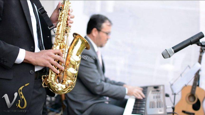 Saxofonista Vitor Souza