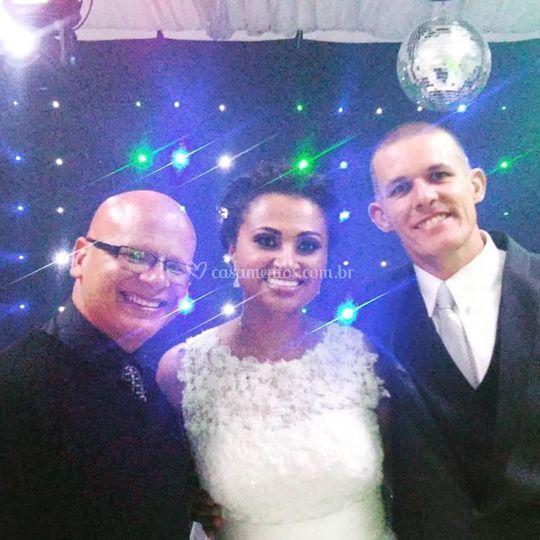 Fotos com os noivos