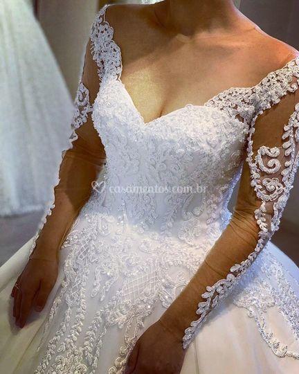 Noiva mod princesa