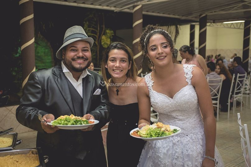 Casamento buffet