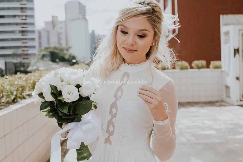 Produção de Beleza da Noiva