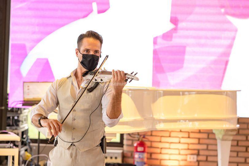 Recepção Social com violino