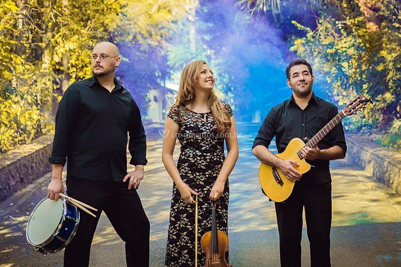 Trio Aquiana para Noivas