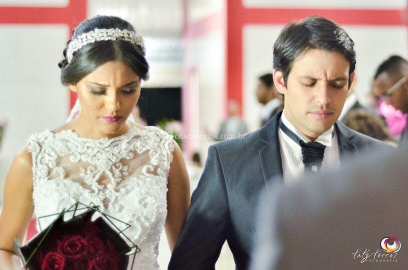 Bruna e Marcelo, lindo casal