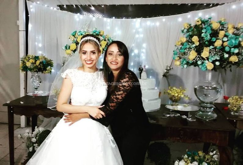 Linda noiva Talita
