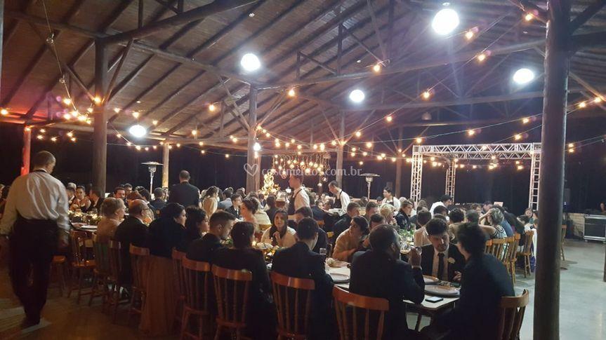 Salao para 300 convidados