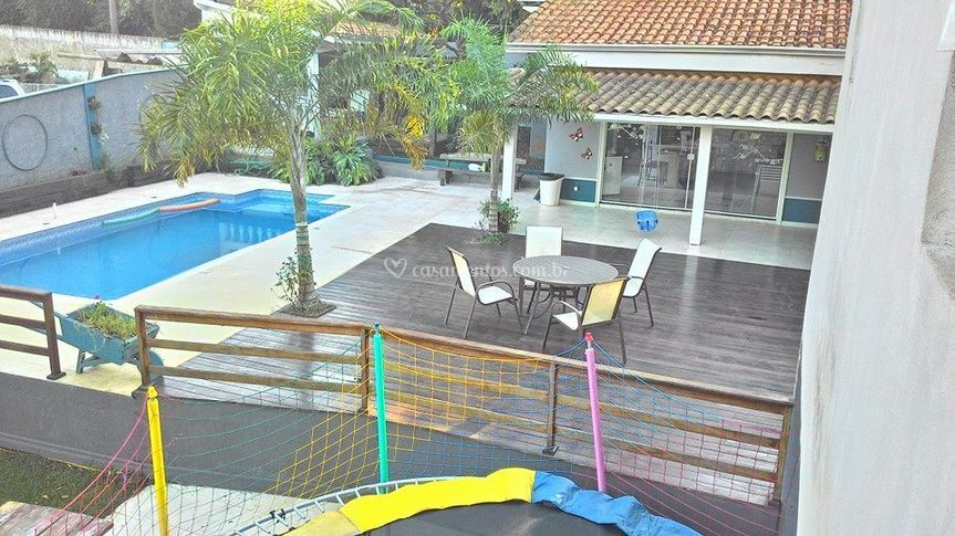 Vista deck