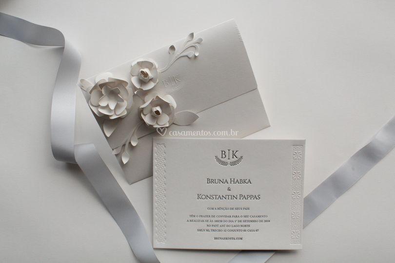 Convite Bruna-Letterpress