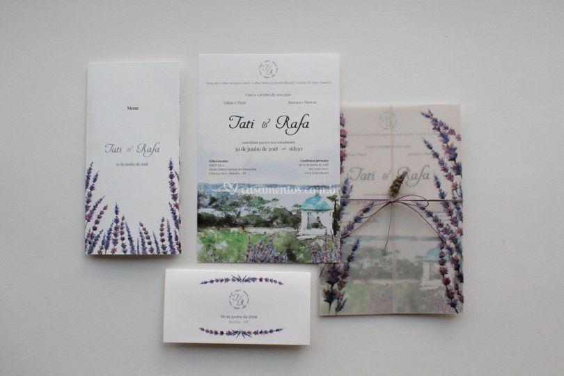 Convite Tati-Aquarela
