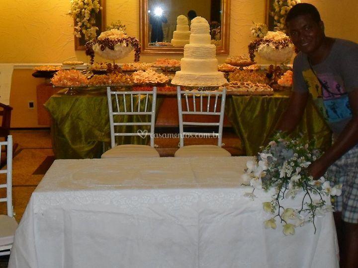 Mesa p/ cerimonia