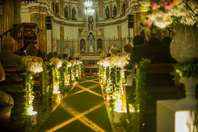 Luz cênica para igrejas