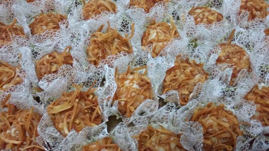 Crocantino de coco