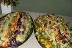 Salada variadas de Degust Buffet
