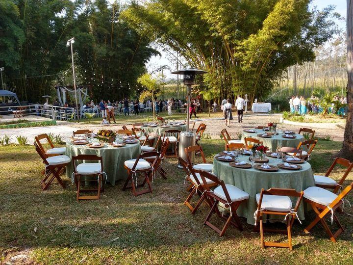 Mesas ao ar livre