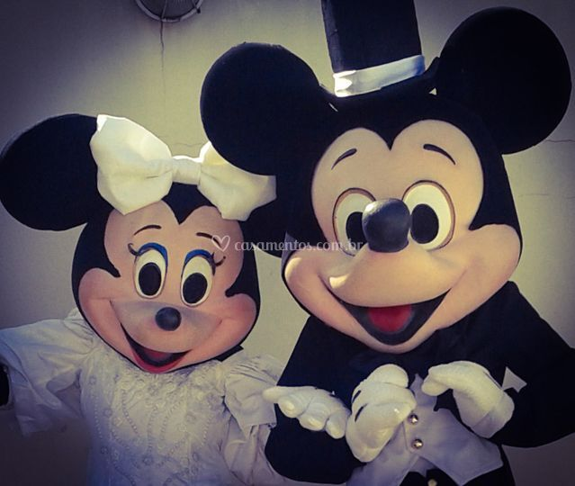 Minnie e Mickey Noivos