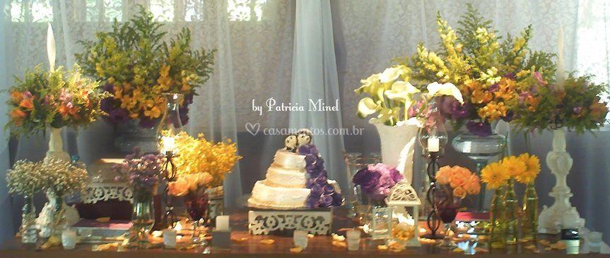 Décor mesa de bolo