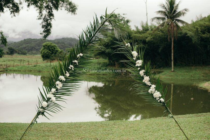 Decoraçao no Jardim