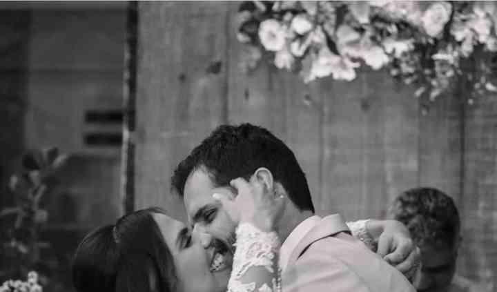O beijo - Sérgio e Catarina