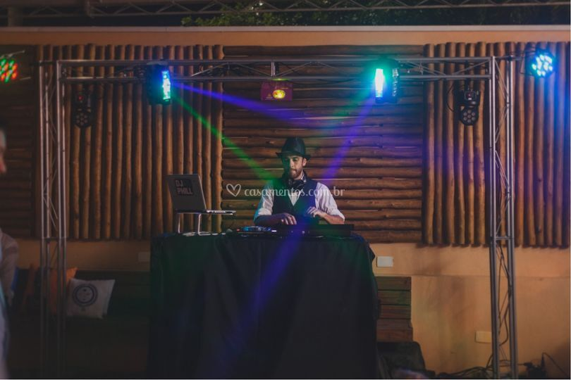 Som, DJ e Iluminação