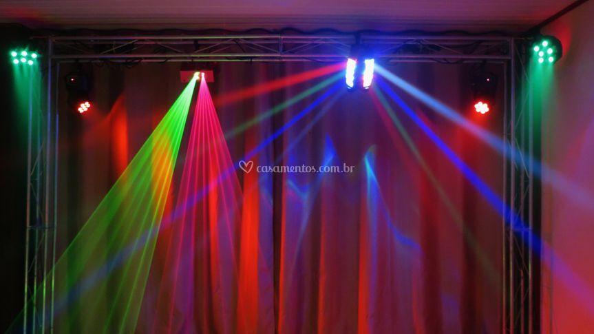 Iluminação de pista de dança