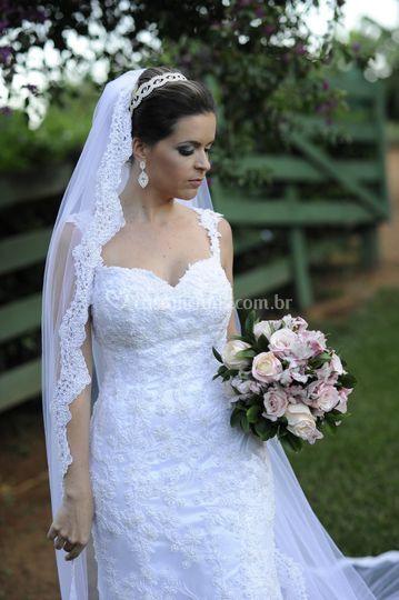 Noiva Real Cristina