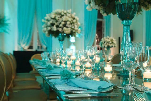 Mesa da familia casamento