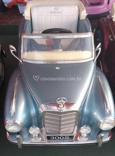 Carrinho Mercedes 300s Azul