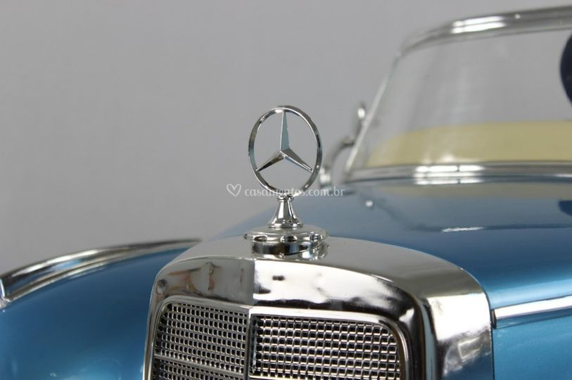 Simbolo Mercedes 300s Azul