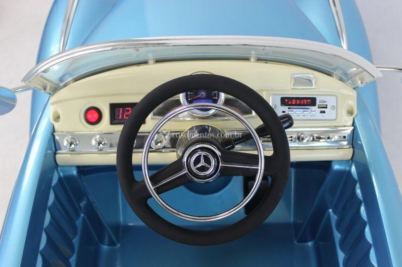 Painel Mercedes 300s Azul