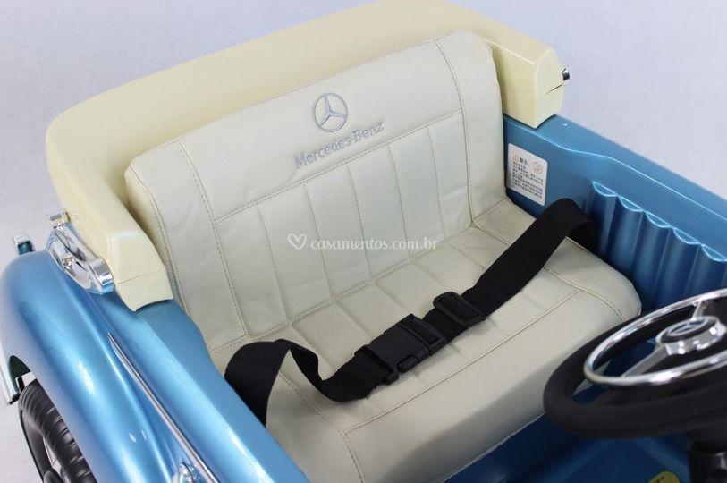 Banco Mercedes 300s Azul