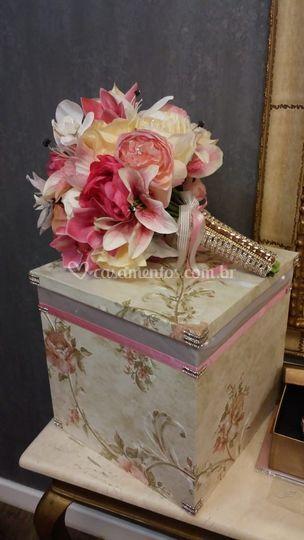 Bouquet romântico lírios