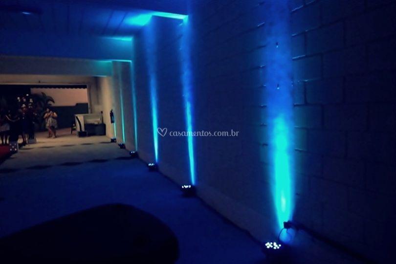 Iluminação Cênica Azul