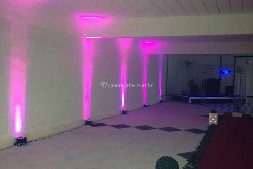 Iluminação Cênica Rosa