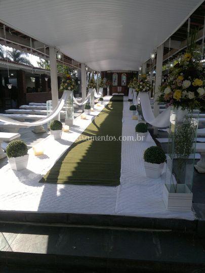 Colunas de cerimonia