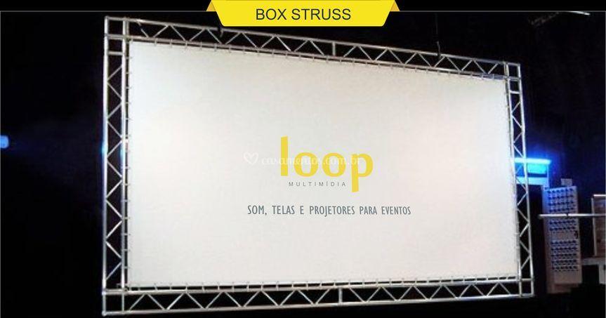 Estrutura box struss