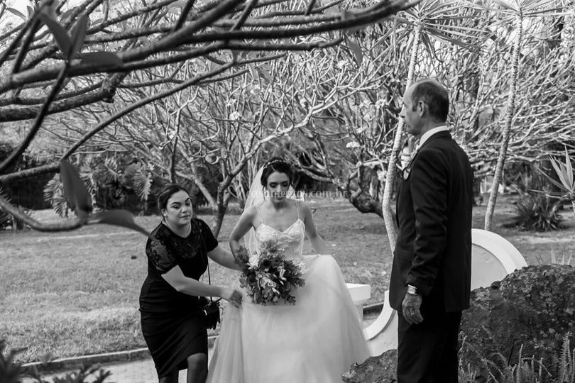 Levando a noiva pro Altar